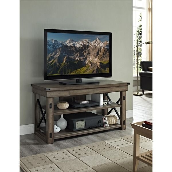Brilliant Series Of Country Style TV Stands With Regard To Tv Stands 10 Inspiring Design Tv Stand For 50 Inch Gallery Tv (View 28 of 50)