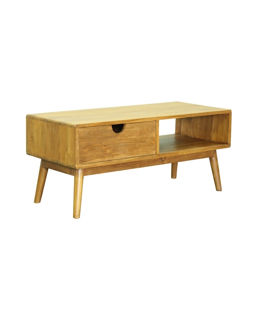 Brilliant Series Of Elise Coffee Tables Intended For Elise Teak Coffee Table Buy Furniture Online Singapore (Image 9 of 40)