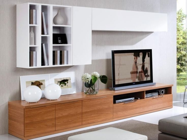 Brilliant Series Of Low Long TV Stands Pertaining To Attractive Long Tv Cabinet Simple Tv Stand Wood Tv Cabinet Long Tv (Image 9 of 50)