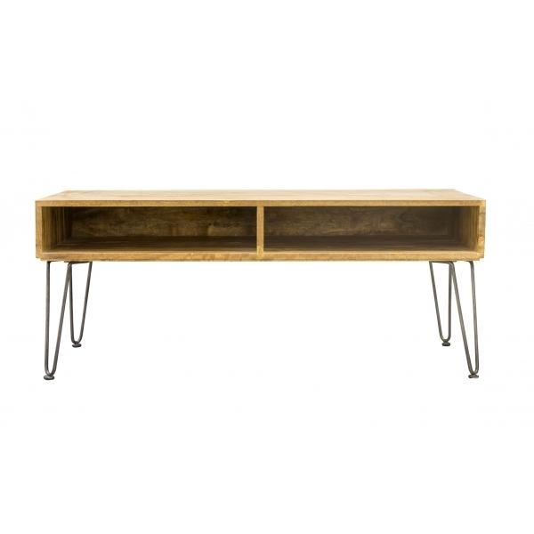 Brilliant Series Of Mango Wood Coffee Tables With Hairpin Retro Coffee Table Solid Mango Wood Cult Furniture Uk (Image 10 of 50)