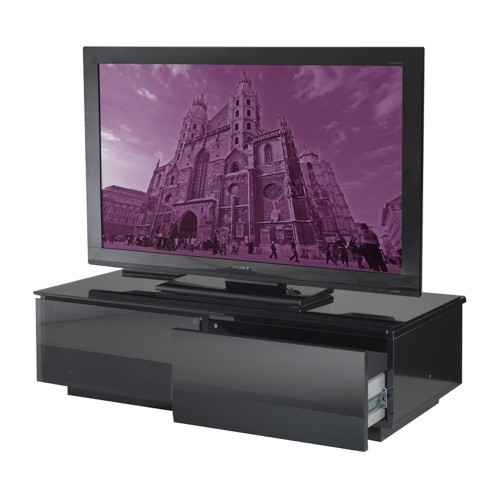 Brilliant Series Of Ovid TV Stands Black In 60 Inch Tv Stands Uk Vogels F1844 Tall Tv Stand With Tilt For (Image 11 of 50)