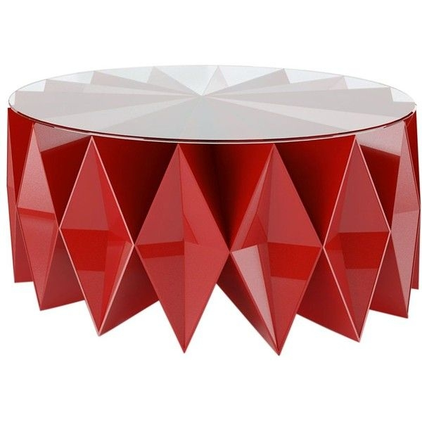 Brilliant Series Of Round Red Coffee Tables Pertaining To 25 Best Red Coffee Tables Ideas On Pinterest Yellow Coffee (View 28 of 50)