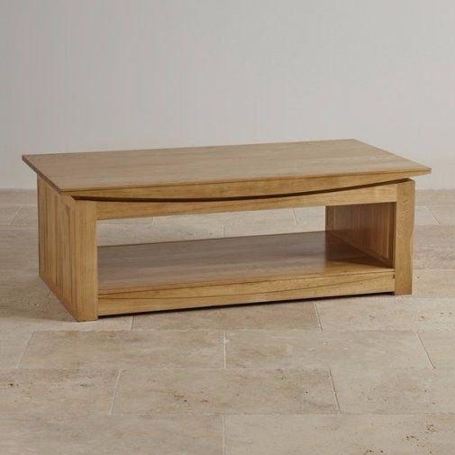 Brilliant Series Of Tokyo Coffee Tables For Solid Oak Coffee Table Oak Furniture Land Tokyo Range In (Image 12 of 50)