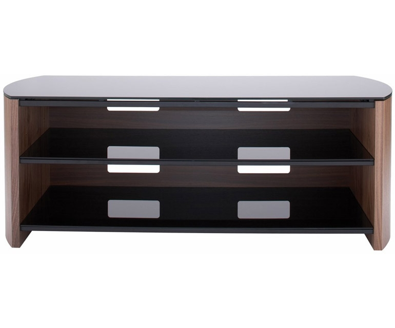 Brilliant Series Of Walnut TV Stands For Flat Screens Within Walnut Tv Stand In Stock Quick View Gramercy Tv Stand Featured (Image 14 of 50)