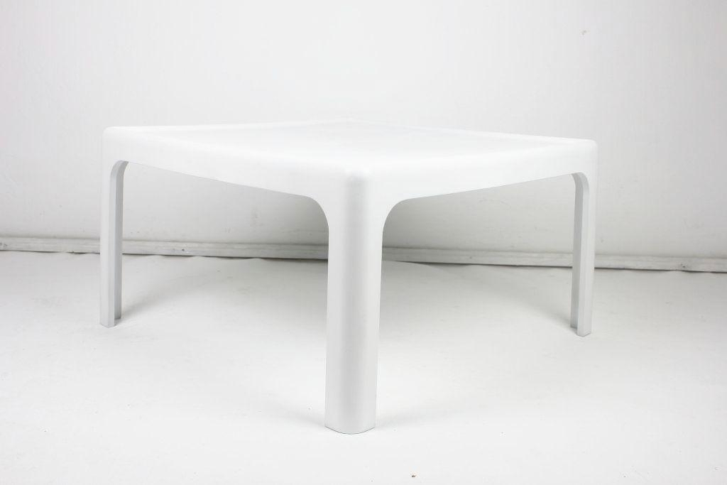 Brilliant Series Of White Retro Coffee Tables Throughout Vintage Coffee Table Peter Ghyczy For Horn Collection 1969 For (View 25 of 50)