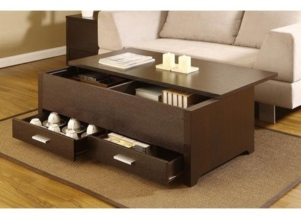 Brilliant Series Of Wooden Storage Coffee Tables With Wood Storage Coffee Table Jerichomafjarproject (Image 9 of 50)