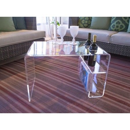 Brilliant Top Acrylic Coffee Tables With Magazine Rack With Regard To Best 25 Acrylic Side Table Ideas On Pinterest Acrylic Table (View 32 of 40)