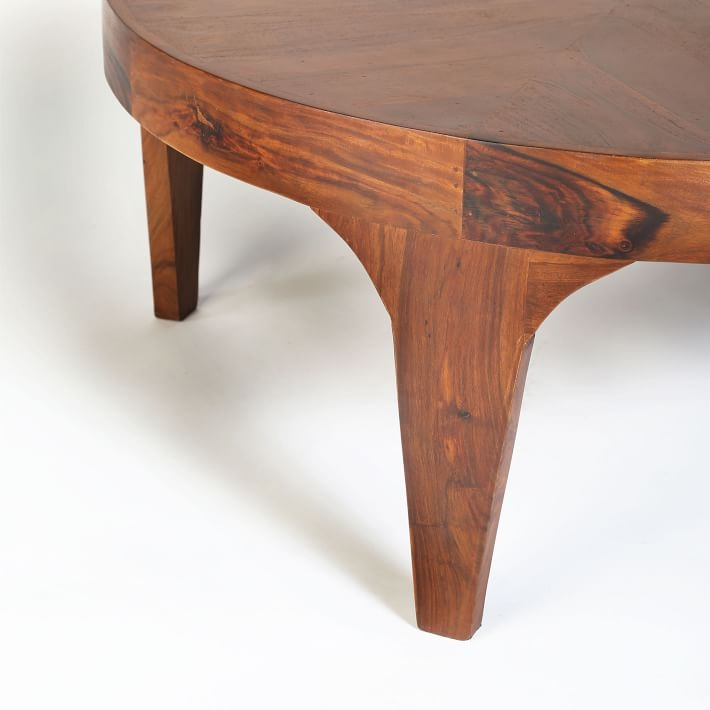 Brilliant Top Aiden Coffee Tables In Aiden Wood Coffee Table West Elm (Image 11 of 50)