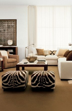 Brilliant Top Animal Print Ottoman Coffee Tables Pertaining To Animal Print Ottomans Foter (Image 16 of 50)