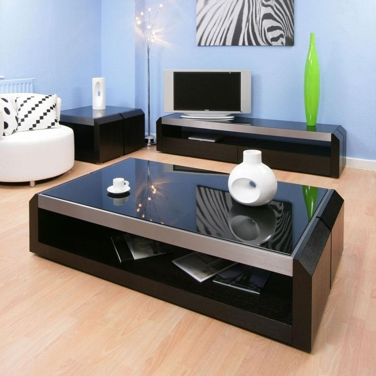 Brilliant Top Black Glass Coffee Tables With Regard To 25 Best Oval Glass Coffee Table Ideas On Pinterest Glass Coffee (Image 14 of 50)