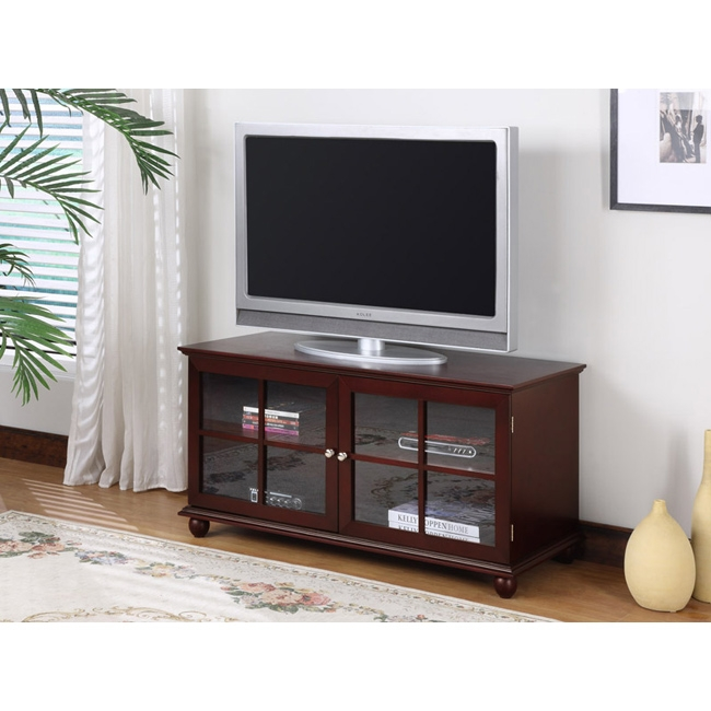 Brilliant Top Dark Wood TV Cabinets Pertaining To Tv Stands Astonishing Tv Stand Cherry 2017 Design Tv Stand (Image 10 of 50)