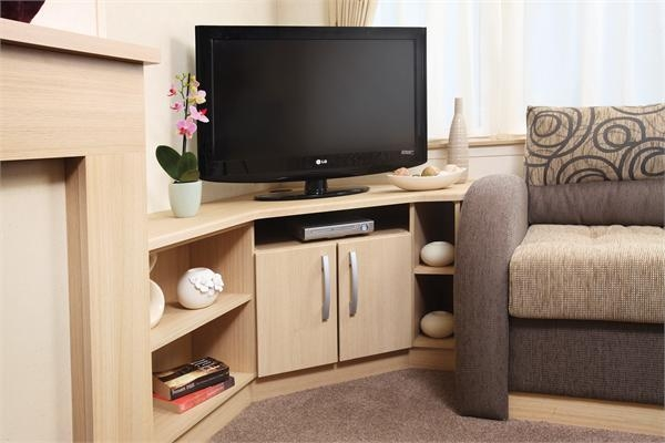 Brilliant Top L Shaped TV Cabinets With Hayes Caravans Holiday Homes (Image 12 of 50)