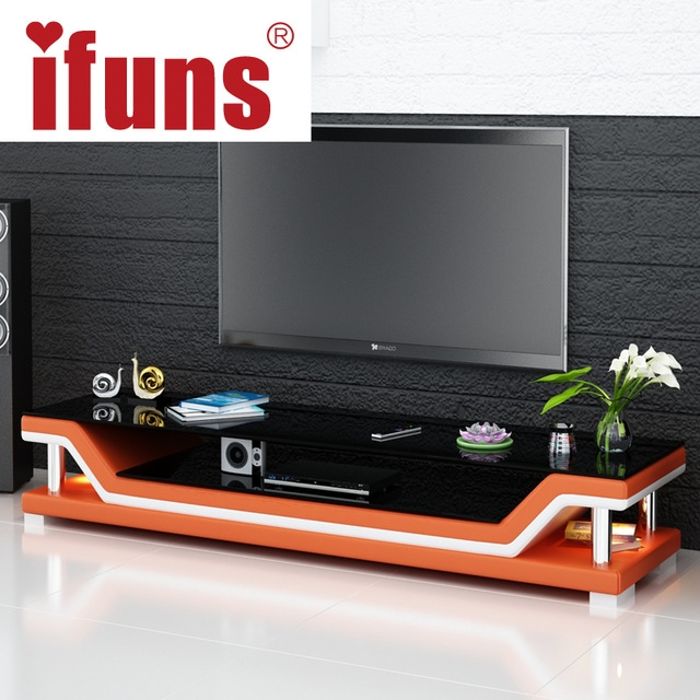 Brilliant Top Modern Glass TV Stands With Aliexpress Buy Modern Tv Tablesglass Tv Standmodern Tv (Image 12 of 50)
