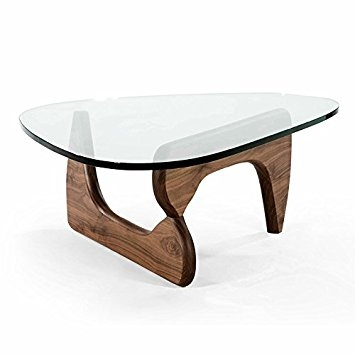 Brilliant Top Noguchi Coffee Tables Pertaining To Amazon Noguchi Coffee Table American Walnut Kitchen Dining (Image 5 of 40)