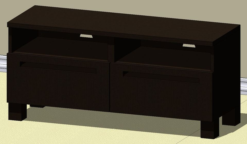 Brilliant Top TV Stands At IKEA Regarding Ikea Best Dal Tv Stand Autodesk Revit 3d Cad Model Grabcad (Image 14 of 50)