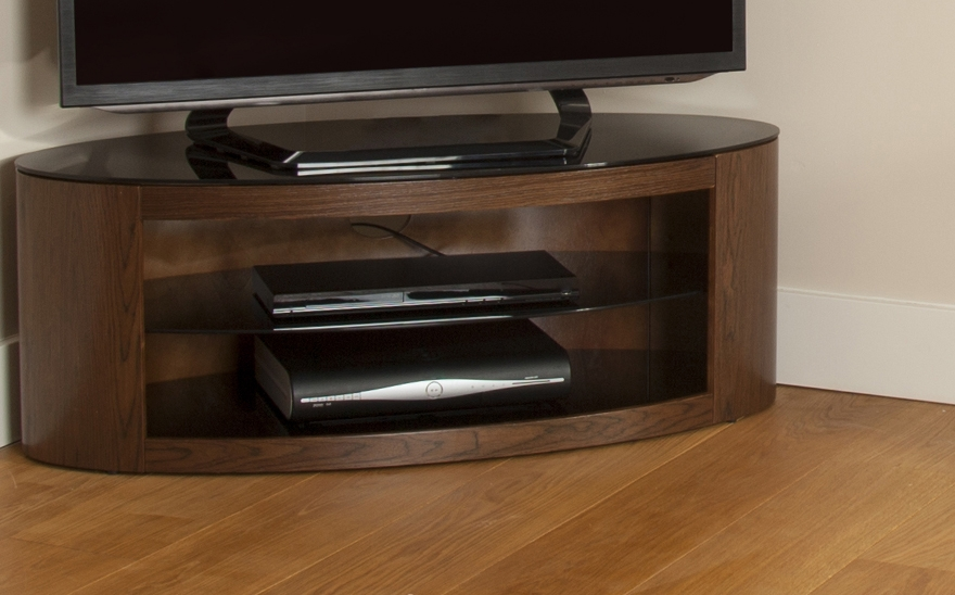 Brilliant Top Walnut Corner TV Stands Inside Buy Avf Buckingham 1100 Tv Stand Free Delivery Currys (Image 12 of 50)