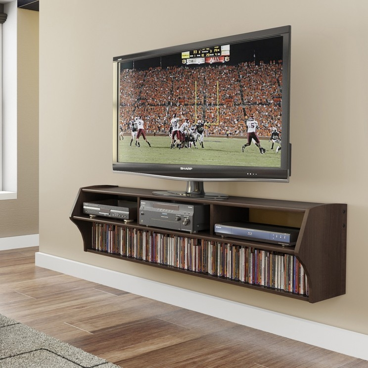 Brilliant Top White Painted TV Cabinets With Furniture Wonderful Floating Tv Cabinet Design For Living Room (Image 20 of 50)