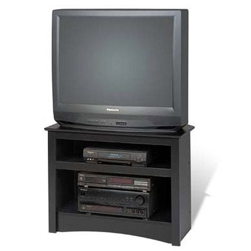 Brilliant Trendy 32 Inch Corner TV Stands For Prepac Sonoma Collection Corner Tv Stand For Screens Up To  (Image 10 of 50)