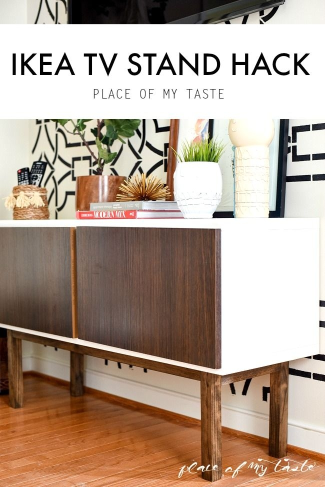 Brilliant Trendy Birch TV Stands In Best 25 Ikea Hack Tv Stand Ideas On Pinterest Console Ikea (Image 13 of 50)