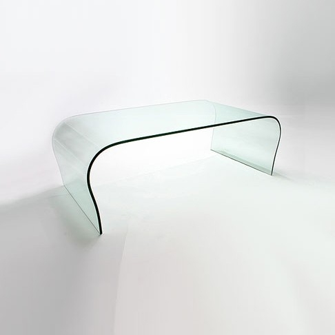 Brilliant Trendy Curved Glass Coffee Tables Pertaining To Curved Glass Coffee Table Ct041 In Stock Abode Interiors (Image 8 of 50)