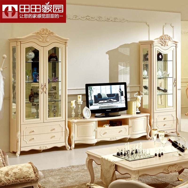 Brilliant Trendy French Style TV Cabinets Pertaining To Cabinet Liners Picture More Detailed Picture About Solid Wood Tv (Image 14 of 50)