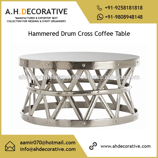 Brilliant Trendy Hammered Silver Coffee Tables Within Silver Coffee Table Silver Coffee Table Suppliers And (Image 19 of 50)