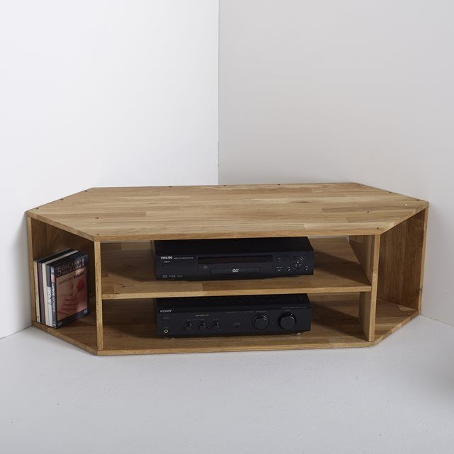 Brilliant Trendy Light Oak Corner TV Stands In Best 25 Corner Tv Unit Ideas On Pinterest Corner Tv Tv In (Image 6 of 50)