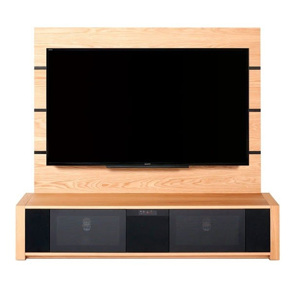 Brilliant Trendy Light Oak TV Cabinets With Regard To Techlink M Series Audio Base Unit Tv Cabinet In Light Oak M1slo (Image 12 of 50)