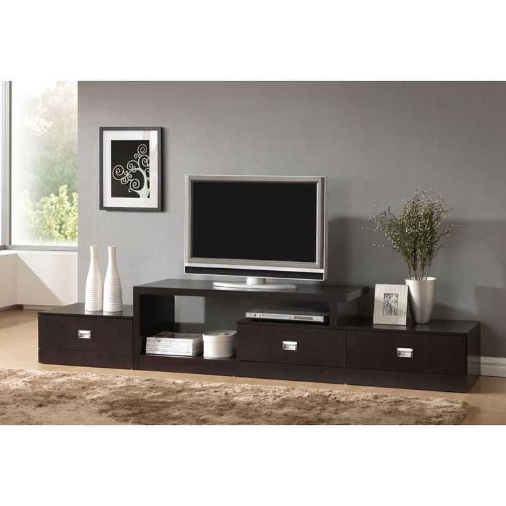 Brilliant Trendy Long Wood TV Stands With Regard To 65 Best Tv Stand Ideas Images On Pinterest (Image 14 of 50)
