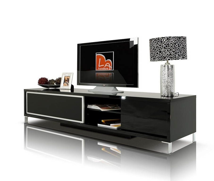 Brilliant Trendy Low Profile Contemporary TV Stands Intended For Low Profile Contemporary Tv Stand (Image 15 of 50)
