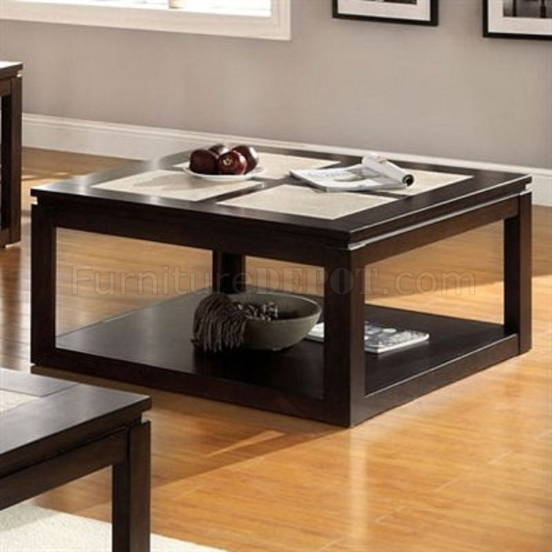 Brilliant Trendy Verona Coffee Tables Within Verona Coffee Table In Espresso Woptions (Image 18 of 50)