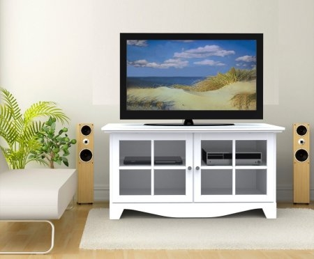 Brilliant Trendy White TV Stands For Flat Screens With White Tv Stands For Flat Screens Top 7 Most Popular White Tv (Image 20 of 50)