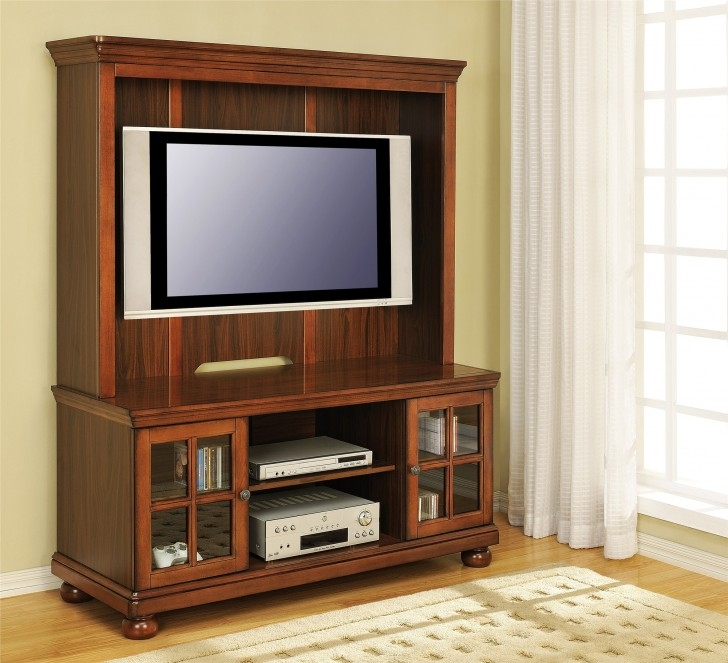 Brilliant Trendy Wooden TV Cabinets With Glass Doors Regarding Furniture Entrancing Schemes Of Flat Screen Tv Cabinet With (Image 18 of 50)