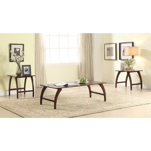 Brilliant Unique Beige Coffee Tables Within Coffee Table Sets Youll Love Wayfair (Image 9 of 40)