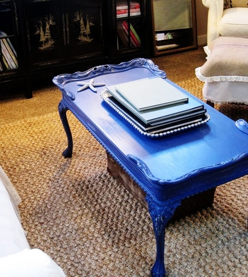 Brilliant Unique Blue Coffee Tables Inside Best 20 Blue Tables Ideas On Pinterest English Country (Image 15 of 50)