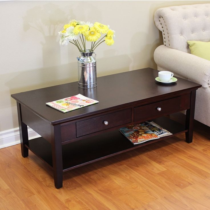 Brilliant Unique Espresso Coffee Tables With Best 25 Espresso Coffee Table Ideas Only On Pinterest Pallet (View 2 of 50)