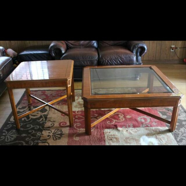 Brilliant Unique Heritage Coffee Tables Regarding Drexel Heritage Coffee Table Set Furniture Home On Carousell (Image 11 of 50)