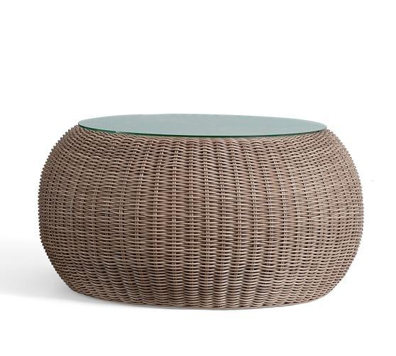 Brilliant Unique Round Woven Coffee Tables Regarding Appealing Round Wicker Coffee Table Large Round Wicker Coffee (Image 19 of 50)