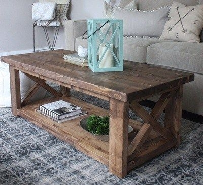 Brilliant Unique Rustic Wood DIY Coffee Tables Within Best 25 Rustic Wood Tables Ideas On Pinterest Diy Table Diy (Image 14 of 50)