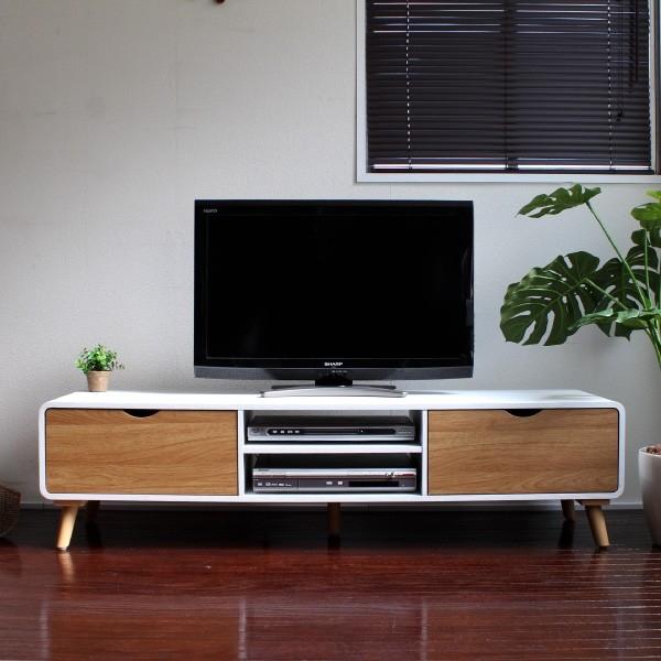 Brilliant Unique Scandinavian Design TV Cabinets Regarding Samurai Furniture Rakuten Global Market Tv Stand Lowboard (View 4 of 50)