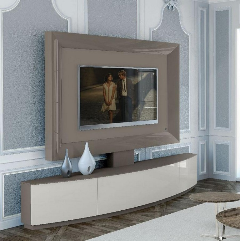 Brilliant Unique Wood TV Stands With Swivel Mount With Corner Tv Stand With Swivel Mount (Image 7 of 50)