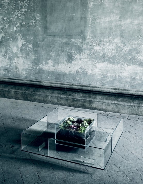 Brilliant Variety Of All Glass Coffee Tables Throughout Spectacular Seasons All Glass Coffee Table Digsdigs (Image 10 of 50)