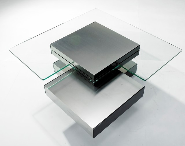 Brilliant Variety Of Contemporary Glass Coffee Tables With Regard To Modern Glass Coffee Tables Table And Estate (Image 7 of 50)