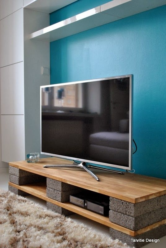 Brilliant Variety Of Cool TV Stands Intended For Best 25 Diy Tv Stand Ideas On Pinterest Restoring Furniture (Image 9 of 50)