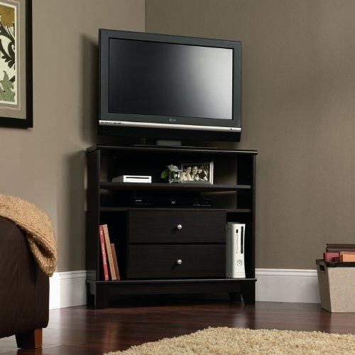 Brilliant Variety Of Corner TV Stands With Drawers In Best 25 Small Corner Tv Stand Ideas On Pinterest Corner Tv (Image 15 of 50)