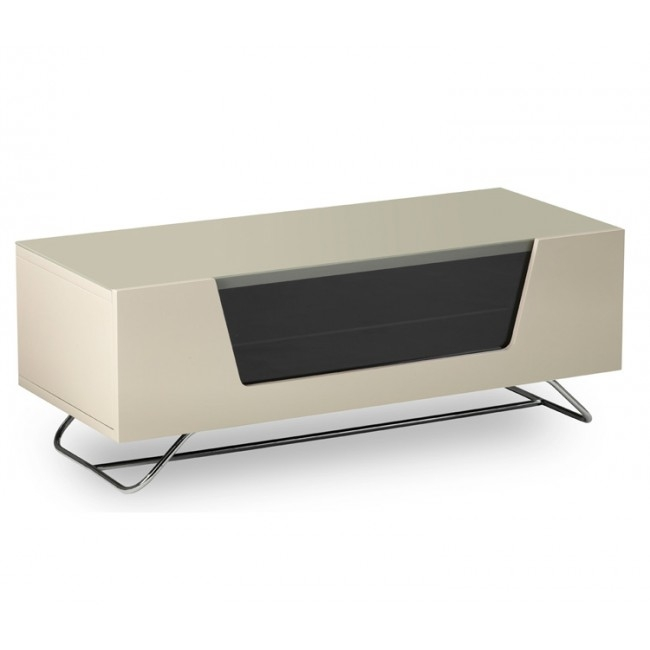 Brilliant Variety Of Cream Gloss TV Stands In 2 High Gloss Ivory Tv Stand (View 3 of 50)