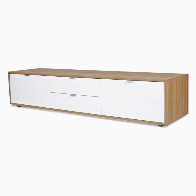Brilliant Variety Of Gloss White TV Stands Throughout Nuovo Modern Tv Stand High Gloss White Funique (View 44 of 50)