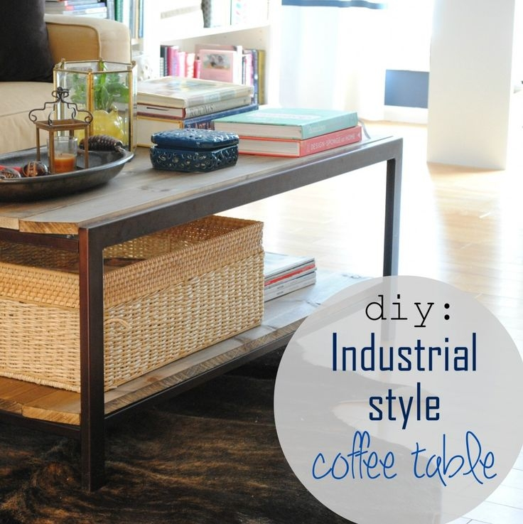 Brilliant Variety Of Industrial Style Coffee Tables With Regard To 25 Best Industrial Style Coffee Table Ideas On Pinterest (Image 14 of 50)