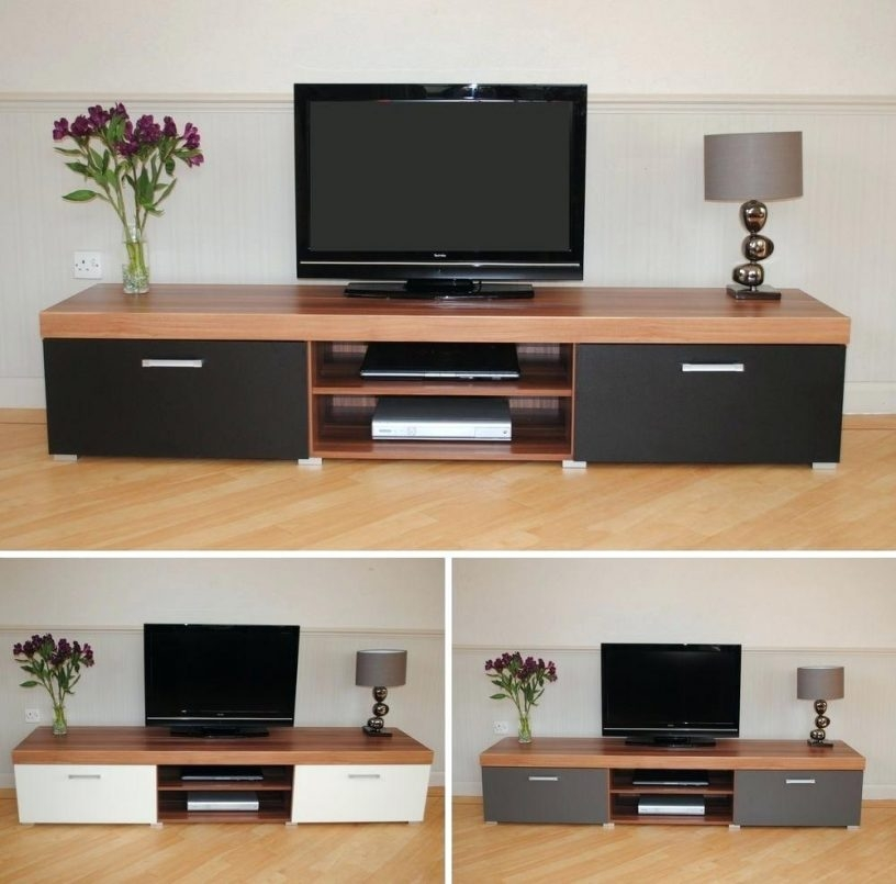Brilliant Variety Of Large Oak TV Cabinets Pertaining To Rivermead Solid Oak Modern Furniture Widescreen Tv Cabinet Stand (Image 19 of 50)