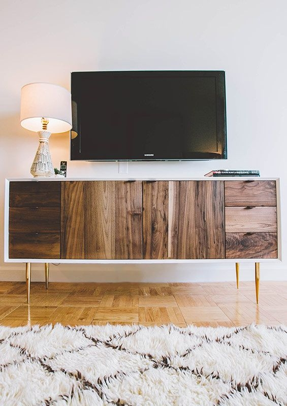 Brilliant Variety Of Long Wood TV Stands With 248 Best Tv Stand Images On Pinterest Tv Stands Stand In And (Image 16 of 50)